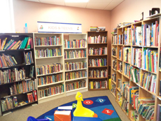 Children's Area in the Friend's Bookstore