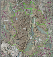 Cumberland Monastery Trails Map